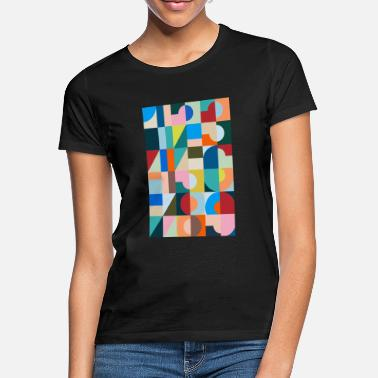 Number Numbers, digits, numbers - Women's T-Shirt