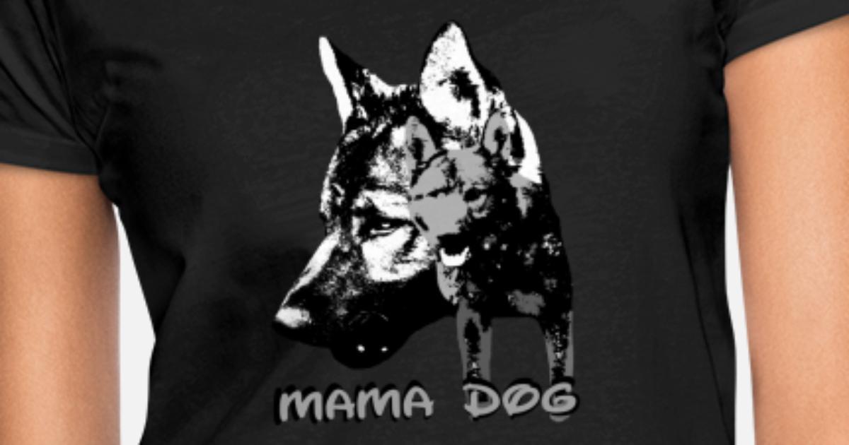 Motiv Shirt Damen T-Shirt Tiermotiv Tierische Sprüche Katzen Hunde Shirt