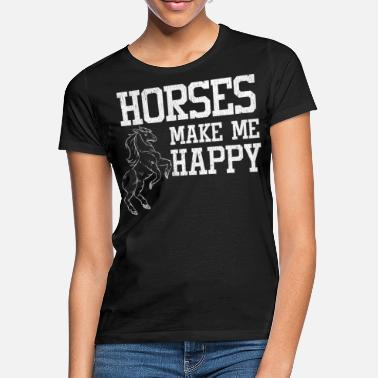 Stall Love horses stall riding - Women's T-Shirt