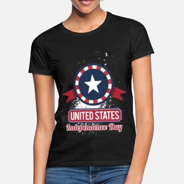 Staat USA Amerika 4th of July - Frauen T-Shirt