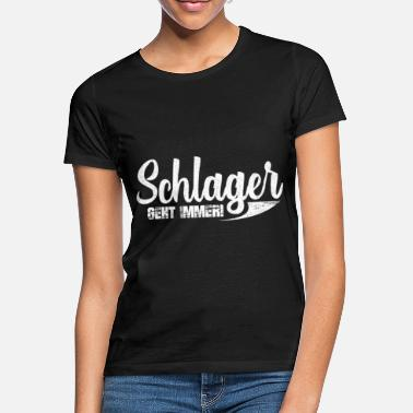 German Schlager Schlager - Women's T-Shirt