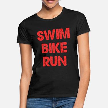 Triatleta SWIM BIKE RUN - Camiseta mujer