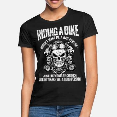 Church Motorcycle Motorcyclist Church Motorcycling - Women's T-Shirt