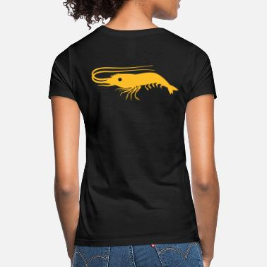 Antenna single shrimp prawn with antennae  - Women's T-Shirt