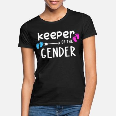 Keeper Keeper Of The Gender T Shirt chemise de grossesse - T-shirt Femme