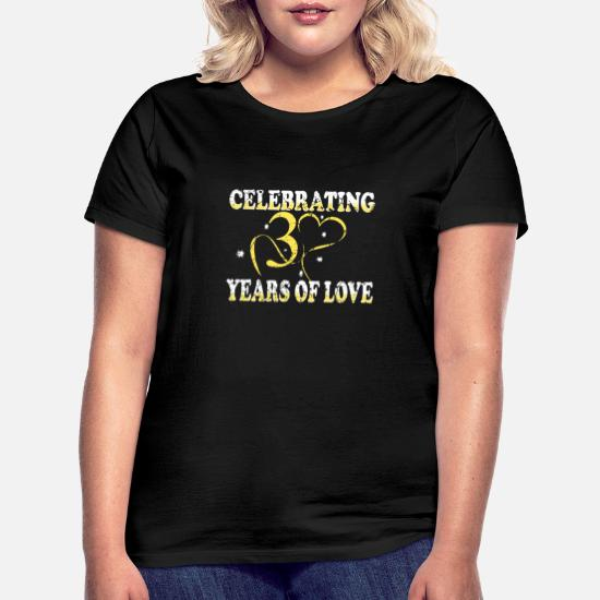 Jahre hochzeitsjubiläum 30 Hochzeitsjahre Tabelle