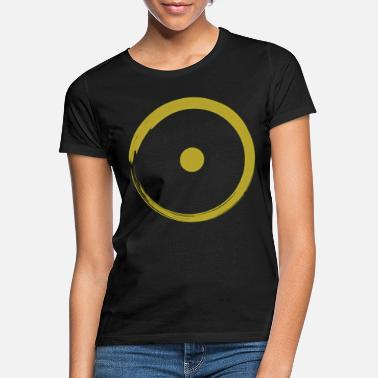 Zen Astrological Sun Sign Buddhism Zen Circle 3 - Frauen T-Shirt