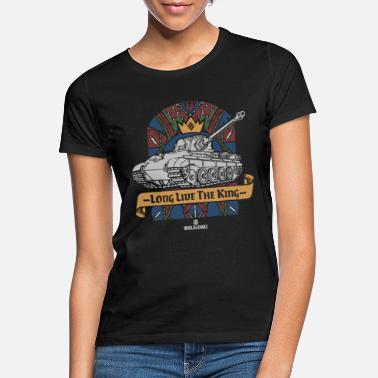 World of Tanks Long Live The King - Vrouwen T-shirt