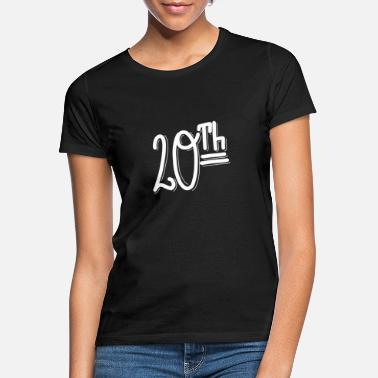20th 20th - Women's T-Shirt