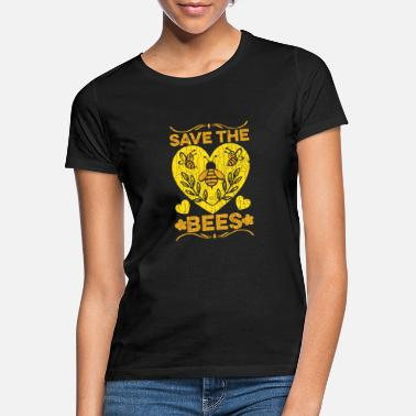 Save The Bees Gem bierne - T-shirt dame