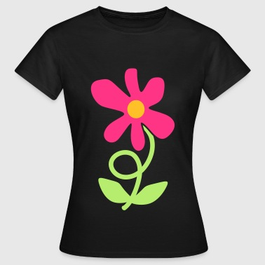 Flower Twirl - Women's T-Shirt