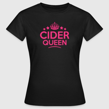 cider queen keep calm style copy - Women's T-Shirt