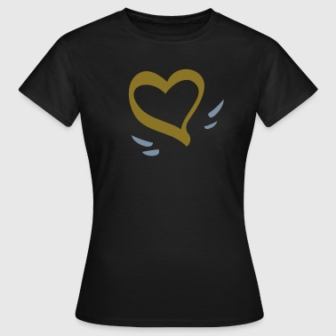 Flying Heart - Women's T-Shirt