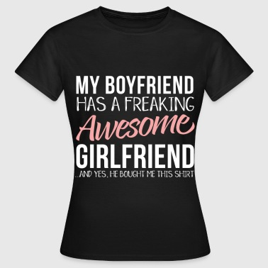 Girlfriend Freundin - Frauen T-Shirt