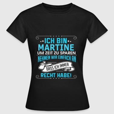 MARTINE - Frauen T-Shirt