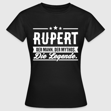 Man Myth Legend Rupert - T-shirt dam