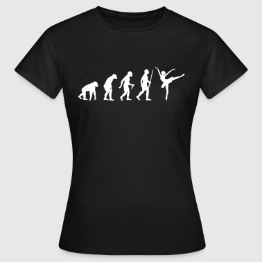 Ballett Evolution - Frauen T-Shirt