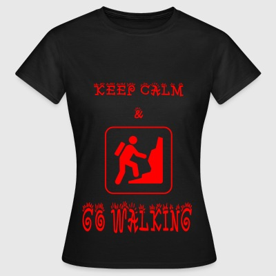 GO_WALKING - Dame-T-shirt