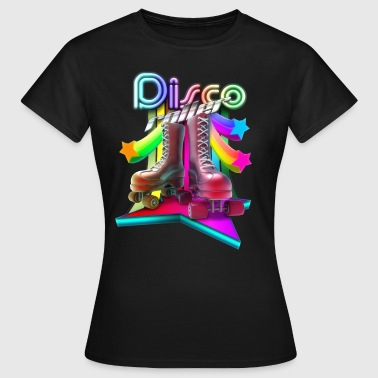 Disco Roller 3D - Women's T-Shirt