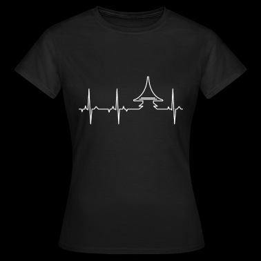 "ECG - Whisky ""Heart Peat"" - Women's T-Shirt"