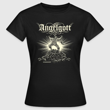 Angel Designs Angelgott - Frauen T-Shirt