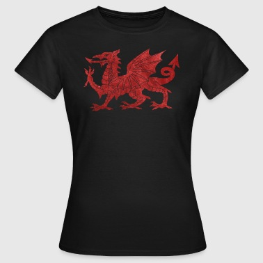 Welsh Red Dragon - Women's T-Shirt