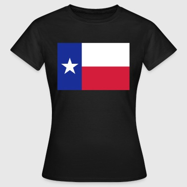 Lone Star Texas Flag - Women's T-Shirt