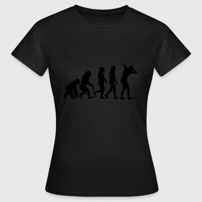 Evolution of dabb - Frauen T-Shirt