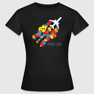 Spread Lov.PNG - Frauen T-Shirt