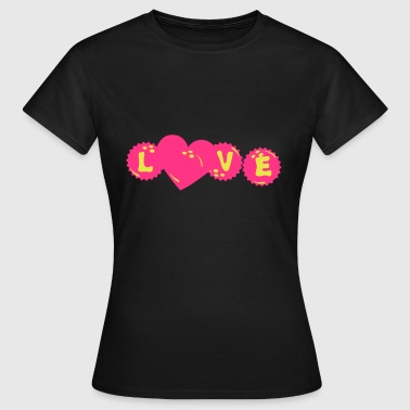 bowling love capsule heart heart7 - Women's T-Shirt
