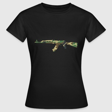 AK47 camouflage - T-shirt Femme