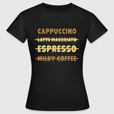JUSTE CAPPUCCINO / AMOUR CAPPUCCINO - T-shirt Femme