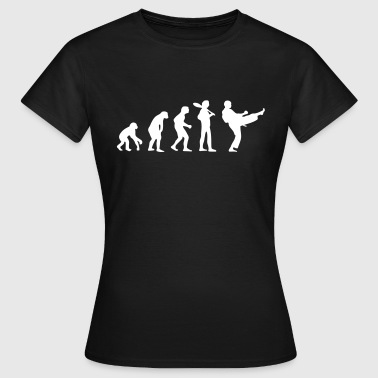 Karate Evolution - Frauen T-Shirt