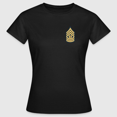 US Army Command Sergeant Major - Frauen T-Shirt