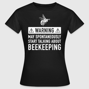 Funny Beekeeper Gift Ideas For Father Of Grandfather - Women's T-Shirt