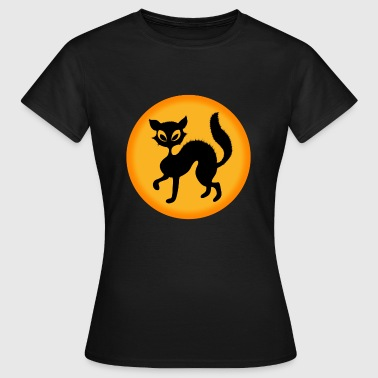halloween-cat - Women's T-Shirt