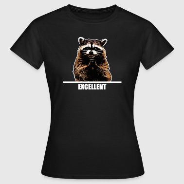 Evil Raccoon for dark clothes - Women's T-Shirt