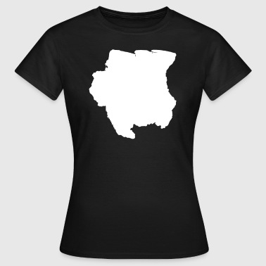 Idea regalo original Surinam - Camiseta mujer