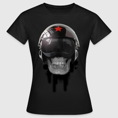 tshirt ccp helmet of death by customstyle - T-shirt Femme