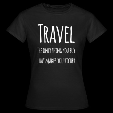 Travel the World - Women's T-Shirt