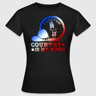 forever country is my music - Women's T-Shirt