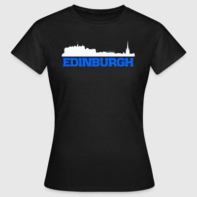 Edinburgh Scotland skyline tee - Women's T-Shirt
