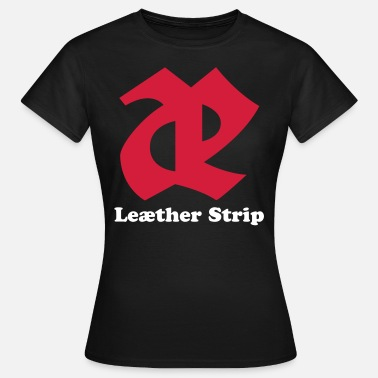 Strip Leaether Strip - Logo 2 : Girlie Shirt - Frauen T-Shirt