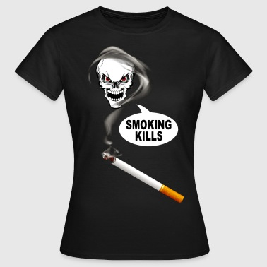 smoking kills 02 - Women's T-Shirt