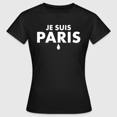 Je Suis Paris 1c - Frauen T-Shirt