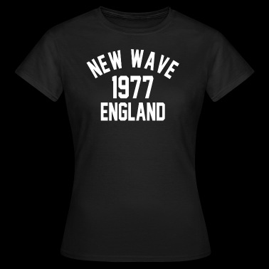 New Wave 1977 England - Women's T-Shirt