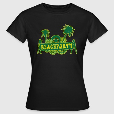 beachparty - Frauen T-Shirt