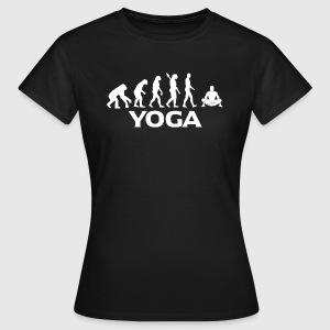 Evolution YOGA wt - Women's T-Shirt