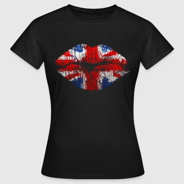 england kiss - Women's T-Shirt