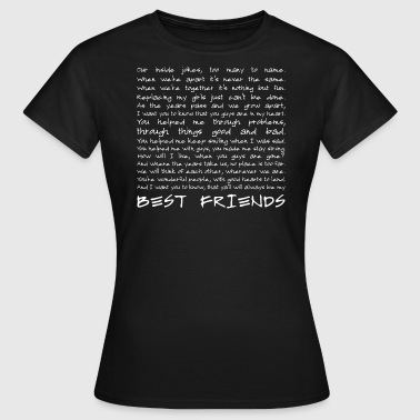 Best friends (dark) - T-shirt Femme